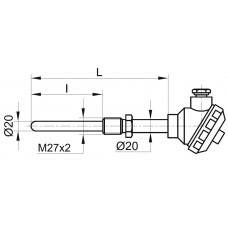 Термопара ТХА-20Ш-1-111, -3-111/112